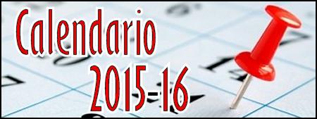 Calendario Escolar 2015-2016 #AP#2#CP#